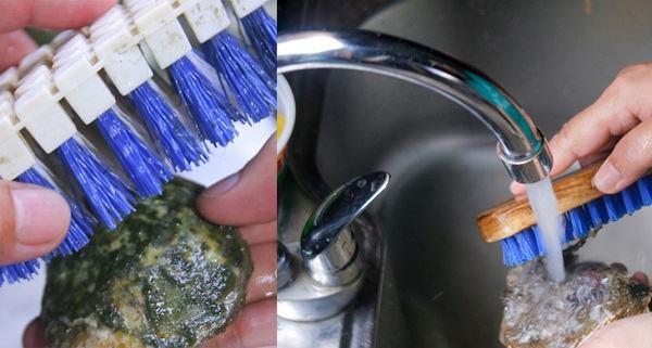Cách làm sạch hàu truyền thống