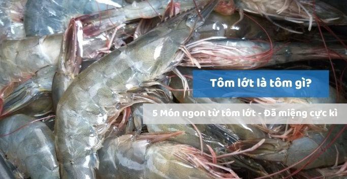 Tôm lớt là tôm gì? Tôm lớt làm món gì ngon?