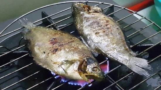 Khô cá sặc nướng